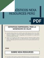 Pronósticos Nexa Resources Perú (Para Exposición)