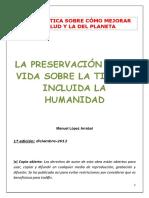 PRESERVACIÓN+DE+LA+TIERRA+Y+LA+HUMANIDAD