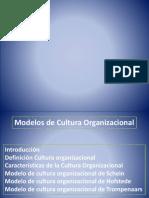 Modelos Cultura Organizacional