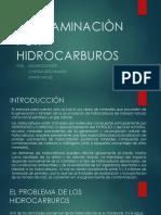 Contaminaciòn Por Hidrocarburos