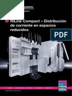 Rittal RiLine Compact - Distribución de Corriente en Espa 5 4427
