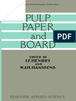 Ph. Bourdeau (Auth.), I. F. Hendry, W. J. H. Hanssens (Eds.)-Pulp, Paper and Board-Springer Netherlands (1987)