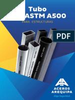 Hoja Tecnica Tubo Lac Astm a500 CAASA