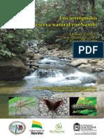 Los Artropodos de La Reserva Natural Rio Nambi