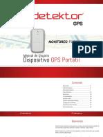 Manual Detektor GPS Portatil GL300