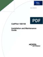 Nortel CallPilot 100-150 Installation