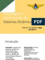 BG Modelagem e Identificação de Sistemas Dinâmicos