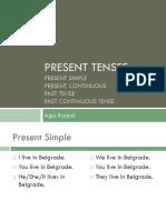 Lesson 5 - Present Tenses
