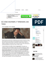 Cómo Escribir (y Terminar) Una Tesis _ Historia Global Online