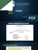 Caminos - Clase 5 - Diseño en Planta - Copia