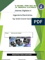 Instrucciones, sistemas digitales, microcontroladores