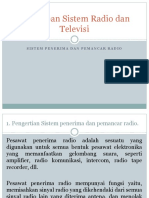 Penerapan Sistem Radio Dan Televisi