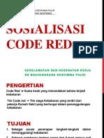 Sosialisasi Code Red