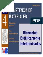 Capitulo 04 Elementos Estaticamente Indeterminados
