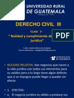 Derecho Civil III Clase 3
