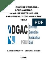 Direccion de Personal Aeronautico