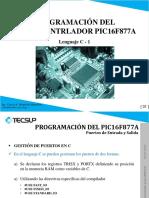 Programacion Del Microcontrlador Pic16f8