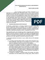 Los Pricipios Procesales Constitucionales Aplicables Al Proc.adm