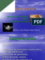Tema 2 La Planificación Urbana