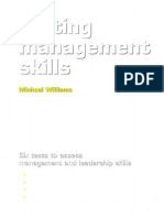 Testing Management Skills Six Tests to Assess Management and Leadership Skills