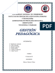 Gestión Pedagógica-Grupo 5