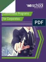 Weschool - Customised Programs Brochure