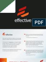 We Are Effective - Sales Deck