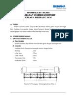 Spesifikasi Teknis Girder a20 b5