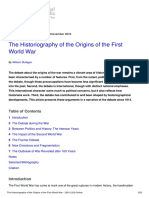 1914-1918-Online-The Historiography of the Origins of the First World War-2016!11!30