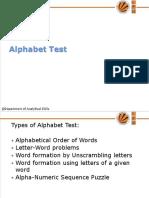 19848_3. UNIT- I Alphabet Test (1)