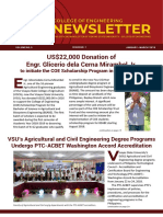 2018 January - March Newsletter