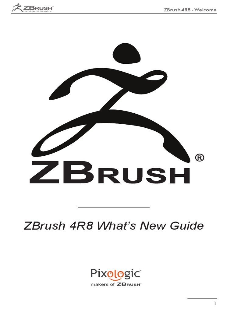 ZBrush4 R8 Whats New | Installation (Computer Programs) | 3