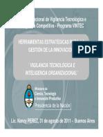 El Proceso de Vigilancia e Inteligencia en El Programa Vintec (1)
