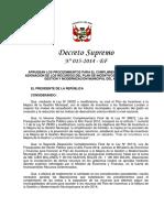 Mef Distritos Peru a b c d 2014