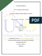 Actividad Individual Unidad 3 Paso 3 Análisis de Circuitos Diego La Rota.
