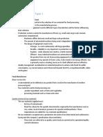 fm notes