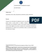 Ackerley - Tecnologías de Comunicación y Movimientos Sociales (ARTÍCULO ACADÉMICO)