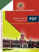 UG Admission Brochure 2018