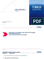 IMCA-Event-2017!02!07 - Revision of IMO Circular 645 and IMCA M 117
