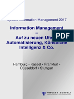 [DE] Update Information Management 2017 | Information Management – Auf zu neuen Ufern