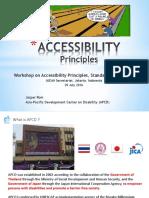 1. Accessibility Principles 29 July 2016 - Jasper