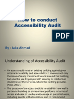 4. Accessibility Audit 29 July 2016 - Jaka