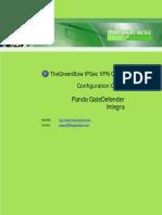 Panda GDIntegra & GreenBow IPsec VPN Configuration
