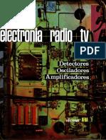 ELECTRÓNICA+RADIO+TV. Tomo III.  Detectores. Osciladores. Amplificadores.