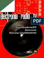 ELECTRÓNICA+RADIO+TV. Tomo IV. Amplificadores de Baja Frecuencia. Altavoces. Válvulas Amplificadoras.