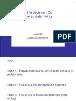 Du Datawarehouse Au Datamining