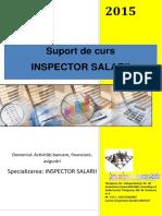 SUPORT CURS Inspector Salarii