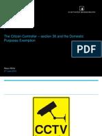Ico Scotland Conference 2015 Alison White the Citizen Controller