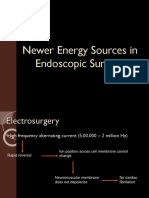 Newer Energy Sources in Endoscopy