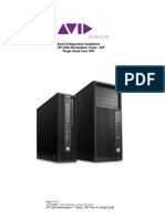 AVID HP Z240 Workstation Tower & SFF Config Guide